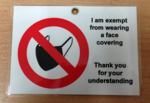 Face Mask No Lanyard