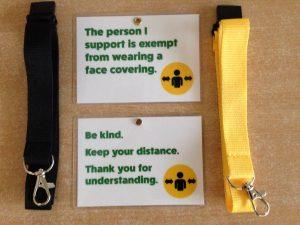Face Mask Exemption Carer's Card