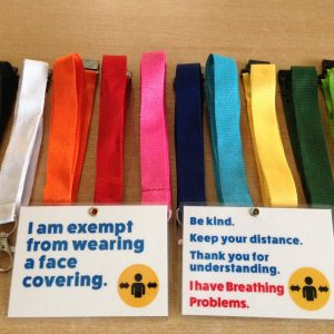 Breathing Problems Face Mask Exemption Card