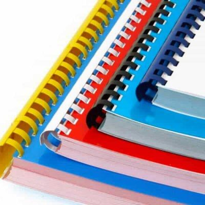 ways to bind documents, comb binding, comb bound booklets